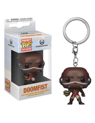Llavero Funko Pocket Pop! Overwatch Doomfist