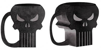 Taza Punisher Molded Mug