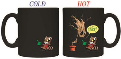 Taza Guardians of the Galaxy Water Heat Change