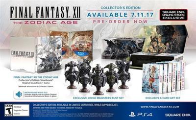 Final Fantasy XII The Zodiac Age - Collector's Edition