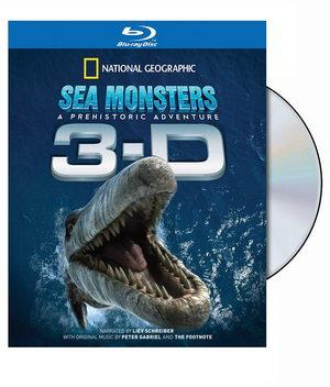 Blu-Ray National Geographic: Sea Monsters