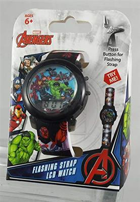 Reloj Digital Para Chicos - Light Up Avengers