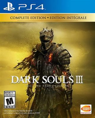 Dark Souls III - The Fire Fades Edition - COMPLETE Ed.