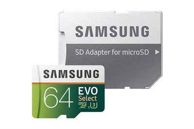 MICRO SAMSUNG 64GB 100MB/S  WITH ADAPTER (MB-ME64GA/AM)