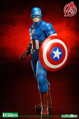 Estatuilla Kotobukiya ArtFX+ MARVEL NOW! - Captain America